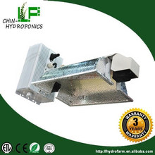 2016 Hydroponics double ended aluminium reflector lamp shade garden grow lights fixture parts/hps 1000w grow light reflector