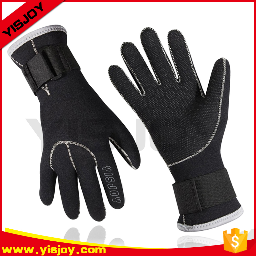 Waterproof diving neoprene gloves dive best spearfishing gloves