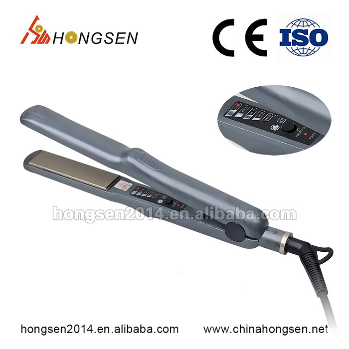 White label hair products, nano keratin protein hair extension iron, hair straightener
