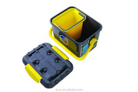 plastic Fishing Water Pail Storage Box Trash Container