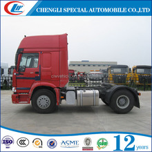 Towing Weight 35T HOWO Truck Tractor 4*2 tractor truck for sale