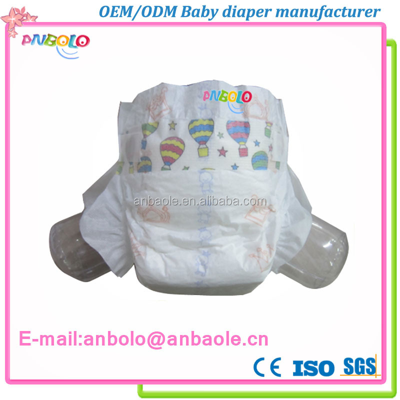 China supplier lovely sleepy pampering baby diapers wholesale