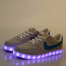 928 hot lace unisex LED sport shoes