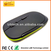 2.4G usb custom wireless mini mouse,ultra-thin computer optical mouse