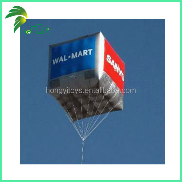 Factory Price Advertising Custom Inlfatalbe Helium Balloon for Celebration / Square Shape / Large Helium Balloons
