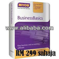 MYOB BusinessBasics v1.5 (Easy business and accounting software)