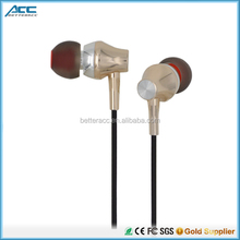 Newest Mobile phone Accessories 3.5 mm plug jack Stereo china Earphones