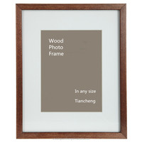 4x6 5x7 6x8 8x10 a4 size wooden ps mdf picture / 16x20 frame with mat