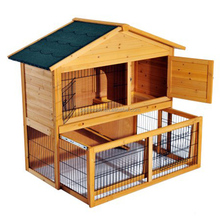 Outdoor 2 Story Rabbit Cage
