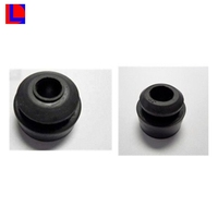 Custom size silicone/rubber 12.7mm food grade grommet