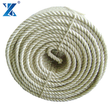6mm crafts 3 strand twist sisal rope with natural color