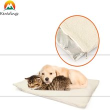 Eco-Friendly Self Heating Pad thermal Pet Bed Mat for Pets Cats, Dogs