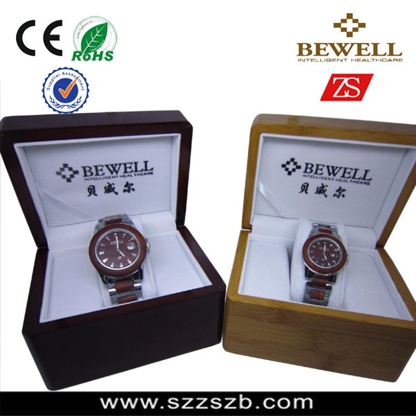 New arrival stainless stee watch and wood watch for men,quartz stainless steel back watch