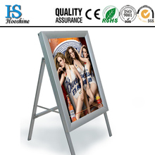 Double side customized aluminum frame LED light box/Outdoor LED ultrathin slim light box