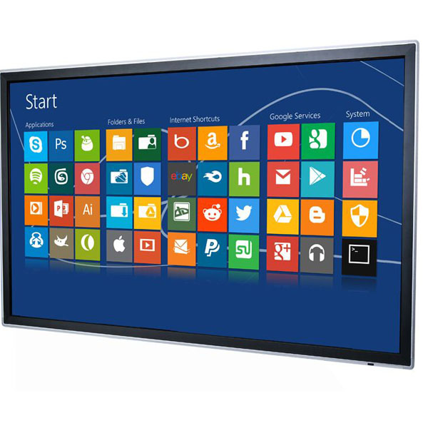 Multi touch 50 55 65 70 75 84 inch 55 led interaction whiteboard touch screen smart tv For exhibition