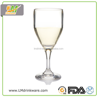 Hot new products american plastic pc cup french unbreakable champagne portugal wine glasses