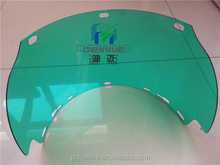 Polycarbonate thermoforming for shield cap