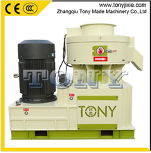 2015 China New design biomass pelletizer TYJ450-III ring die pellet mill with oil circulating lubrication system