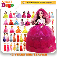 Professional OEM services bulk parts supplier fashion doll clothes accessory. girls pretend play crown magic bar play set