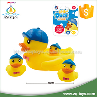 Lovely yellow bath vinyl duck toy