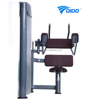 Hot Sale Seated Abdominal Crunch Machine Body Strong Fitness EquipmentGym Equipment