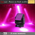 25*15W 4in1 panel matrix beam led cheap moving head lights for sale