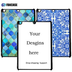 design your own cell phone case 2d sublimation PC cell phone back cover case for iPad Air 2
