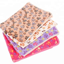 Absorbent Pet Dog Cat Soft Blanket Bed Mat For Warm Sleep