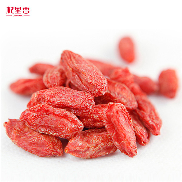Ningxia dried superfoods manufacturer supplies healthy herb tea goji berries with hot sale size 380 grains