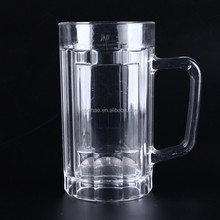500ml Unbreakable Plastic Beer Mug,made from Polycarbonate