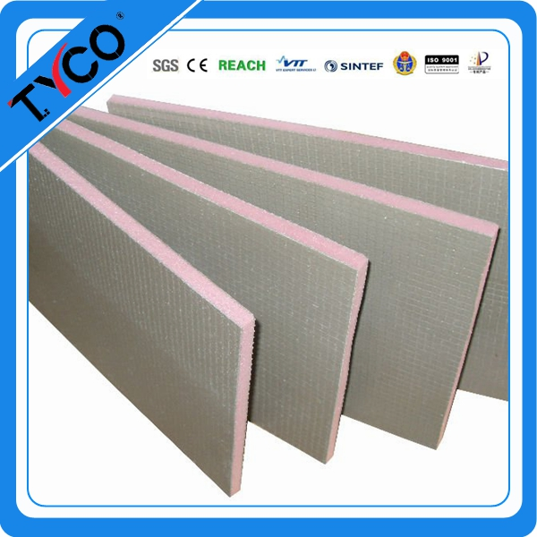 Rugged Facer Ligth Weight XPS Foam Board for Tile