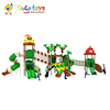 Quality-assured Custom Made Wonderful 1-6 Years Old Kids Plastic Outdoor Playground Equipment For Kindergarten