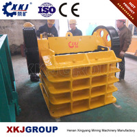 Henan factory direct sale used metal jaw crusher with lowest price