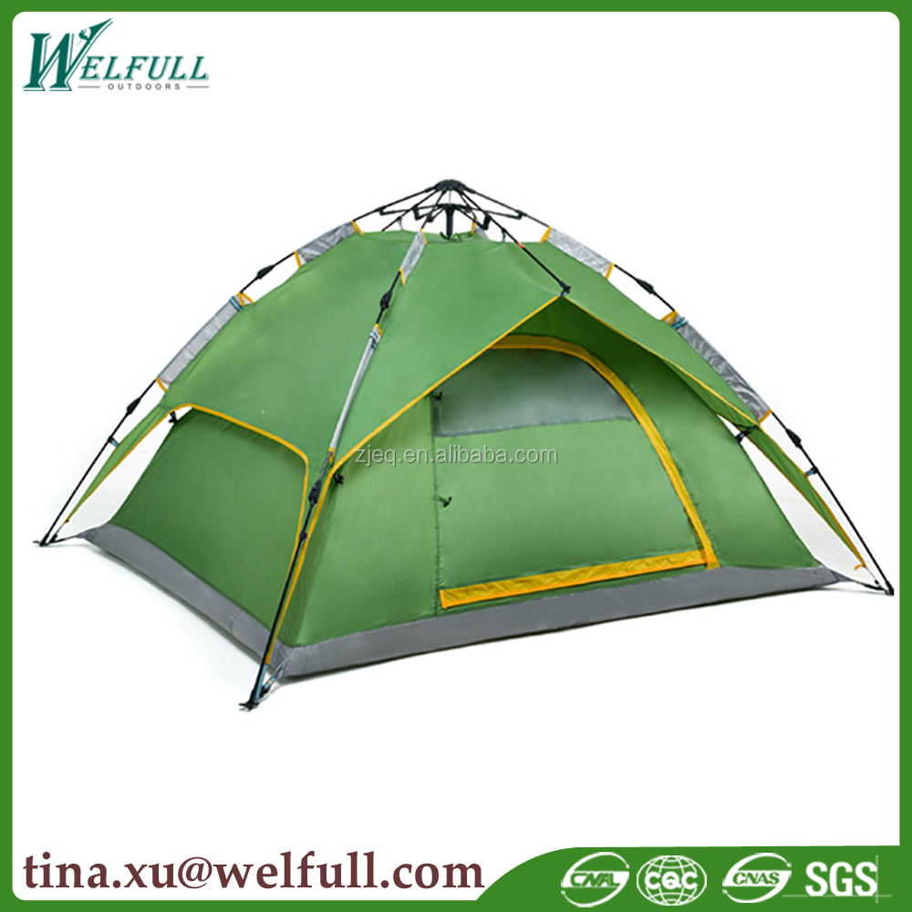 Wholesale 2-3 Persons Unique Outdoor Folding Automatic Camping Tent
