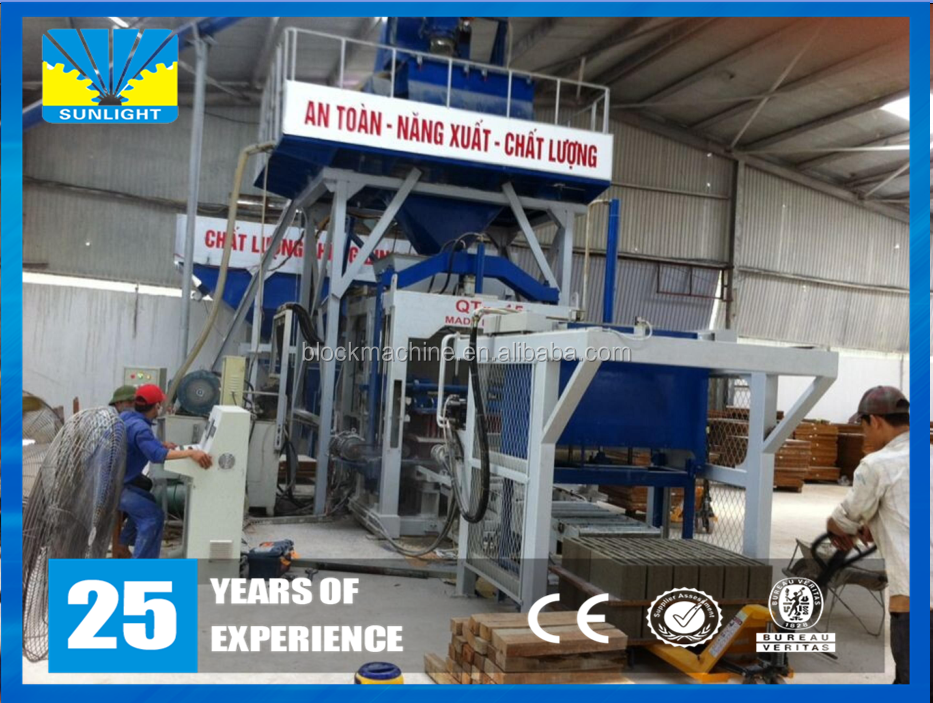 Hydraulic concrete block making machine in south africa