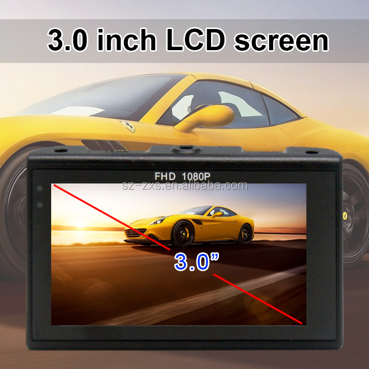 1080P Night Vision Vehicle Car Black Box Manual HD DVR Car Camera ZXS-F9