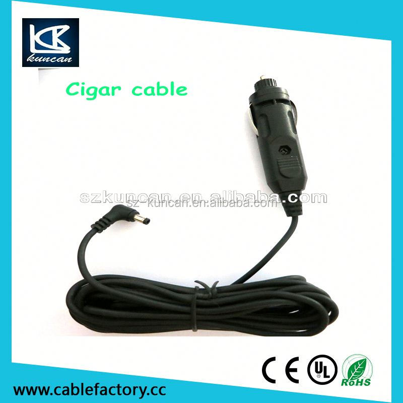 Car charging cable 12v low voltage cigarette lighter power cable