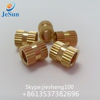 jiesheng hard ware hot sale plastic brass insert nuts+86 13537382696