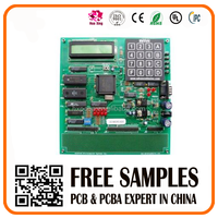 custom Security System PCB PCBA circuit board with display