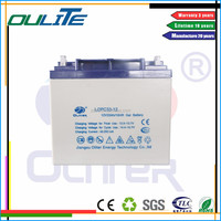 12V 33ah sealed maintenance free rechargeable lead acid battery