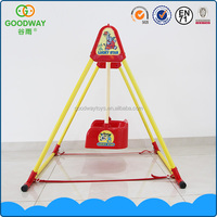 Wholesale high quality toy plastic safety funny indoor baby swing