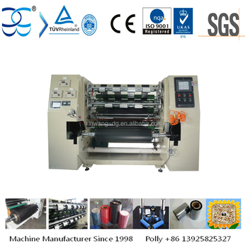 Automatic TTR Thermal Transfer Ribbon Slitting Machine