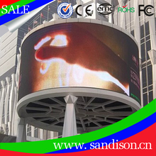 Full Color Curved Screen Display Advertising LED Video Wall mounted Curved LED Screen in Shenzhen China manufactory