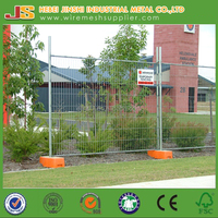 Cheap Hot Dipped Galvanized wire welded outdoor Temporary Fence / Australia Standard Temporary Fence Panels Hot Sale