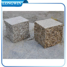 China granite landscaping cobble pavers