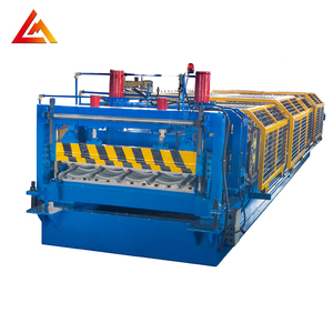 High Quality Corrugated Tile Roof Sheet Making Machinery Steel Profile Tile Roll Forming Machine