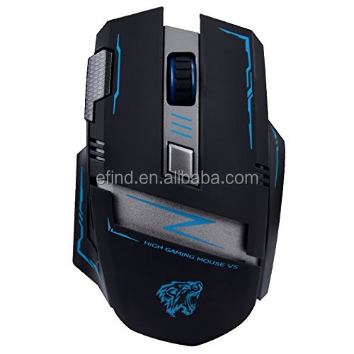 Ergonomic Mac Gaming Mouse Wireless for Laptop