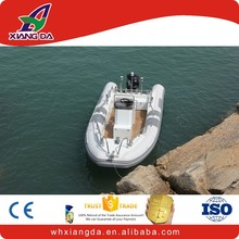 Yacht RIB Aluminum Dinghy large inflatable boat