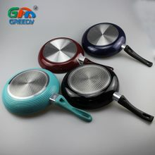 Non-stick Fry pan Aluminum Frying Pan With Induction Bottom Electric Omelete Pan
