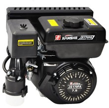 JIANSHE 168F OHV Gasoline Petrol Generator Engine 5.5hp GX160 Electric Start With Tank Air Cooled
